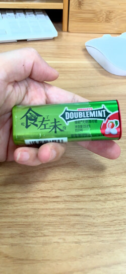 绿箭(DOUBLEMINT)无糖薄荷糖茉莉花茶味35粒23.8g单盒金属装(新旧包装随机发) 晒单图