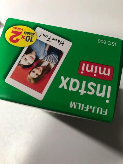 富士INSTAX 立拍立得 一次成像相机 MINI7s相机 粉 入门套餐(20张胶片) 晒单图