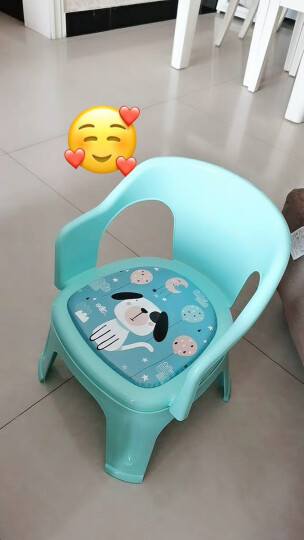 日康(rikang)餐椅摇椅 儿童椅子靠背椅叫叫椅宝宝发声椅幼儿园小凳子RK-3698颜色随机 晒单图