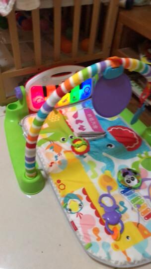 费雪(Fisher-Price) 宝宝健身架 脚踏钢琴 早教益智 婴儿玩具 0-1岁 多功能轻便摇椅DMR87 晒单图
