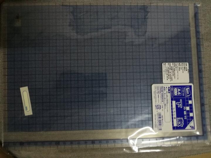日本SUN-STAR 太阳星垫板  学生书写垫板 透明大垫板 方格尺垫板 16K 垫板 250*182mm 晒单图
