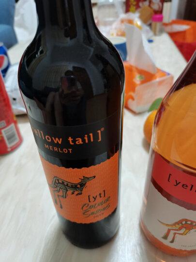 黄尾袋鼠(Yellow Tail)桃红起泡葡萄酒 750ml 单瓶装 澳大利亚进口 晒单图