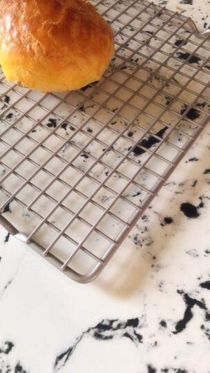 学厨 CHEF MADE 冷却架 蛋糕面包冷凉网烘焙工具不粘重钢材质41.3*25.7*1.8cm香槟金色WK3004 晒单图