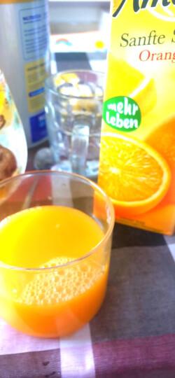 爱美可(Amecke)进口果汁德国原装鲜榨果汁树莓红醋栗苹果混合果汁1L*2瓶装果汁饮料(新老包装交替发货) 晒单图