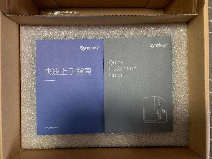 群晖(Synology)DS115j 经典单盘位NAS网络存储服务器 (无内置硬盘) 晒单图