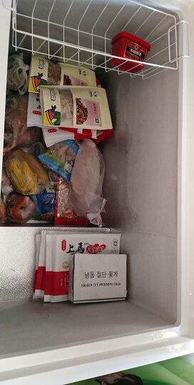 澳柯玛(AUCMA)323升带锁卧式家用商用大容量冰柜 冷藏冷冻转换冷柜 单箱变温顶开冰箱 BC/BD-323NE 晒单图