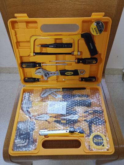 得力(deli)25件套多功能组合工具箱 家用/维修/五金工具套装 晒单图