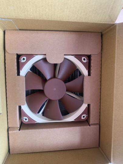 猫头鹰(NOCTUA)NH-U12S CPU散热器 (支持115X/2011/AMD/F12 PWM风扇/全铜热管/CPU散热器) 晒单图