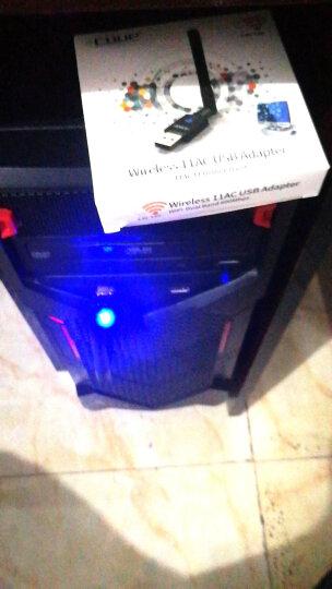 翼联(EDUP)USB无线网卡 600M免驱版双频台式机笔记本通用 随身WIFI接收器发射器  外置穿墙天线 晒单图