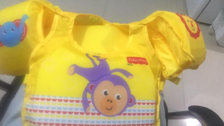 风火轮(HOT WHEELS)儿童游泳套装(游泳圈+手臂圈、附赠充气泵、适合3-6岁儿童初学游泳、戏水使用) 晒单图