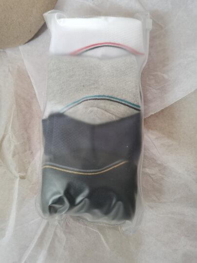 安踏运动袜男袜2020年季新款跑步袜篮球袜组合装舒适防臭休闲袜子4双装中短袜袜子棉 白/黑色、黑/白色、灰色、白/蓝/红色-5(中袜) S 晒单图