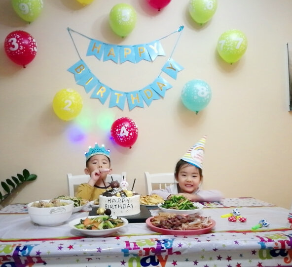 多美忆 创意生日派对用品数字气球拉旗发光皇冠吹龙生日帽拍照道具桌布创意生日蜡烛 王子款 晒单图