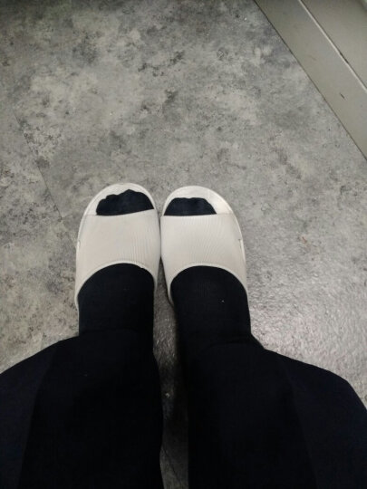 【柔软防滑】访客 夏季浴室拖鞋漏水防滑男女情侣凉拖速干家居室内拖鞋 粉色日式条纹款 36-37适合平时35-36码穿 晒单图