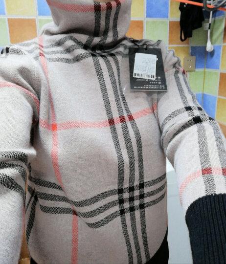 锐莲毛衣女套头针织衫高领外穿打底长袖2018秋冬新款女装 墨绿色 XXL(建议125-135斤) 晒单图
