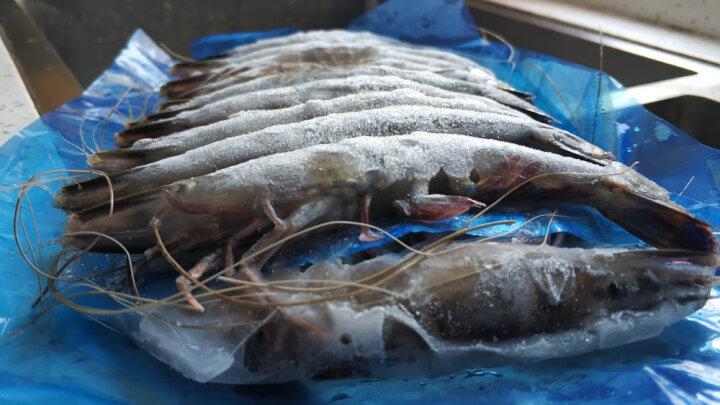 京觅·海外直采 泰国黑虎虾(巨型限量款)1.8kg 32-40只/盒 原装进口 礼盒装 晒单图