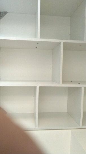 家乐铭品 书柜书架 收纳架储物柜加固加高八格柜自由组合简易柜子省空间落地文件柜现代简约客厅置物柜 A3230 晒单图