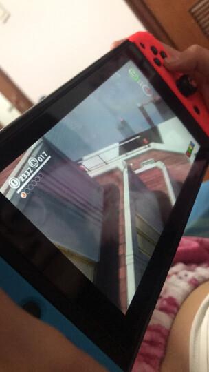 良值(IINE)适用任天堂Switch钢化膜 高清保护玻璃贴膜 9H硬度 NS配件 全红边框-L138 晒单图