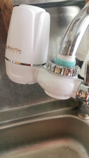 water plus沃德加净水器水龙头台式前置净水机家用厨房过滤器自来水陶瓷滤芯 1机5芯新锐款 晒单图
