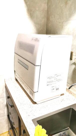 松下(Panasonic)洗碗机家用台式全自动洗涤剂 免安装 6套大空间 高温除菌烘干 洗碗粉套装 NP-TR1HECN(银河灰) 晒单图