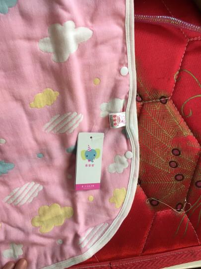 象宝宝(elepbaby)婴儿睡袋 夏季薄款新生儿宝宝纱布背心睡袋 80X45CM蓝色 晒单图