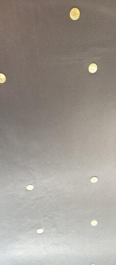 皮革面料软包沙发布料汽车加厚仿真人造革diy硬包床头皮子pu皮料 粉红色(1米价) 晒单图