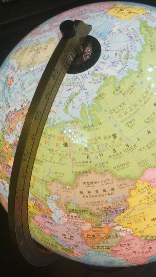 世界地理地图 对开(870mm*600mm)折叠撕不烂地图 晒单图