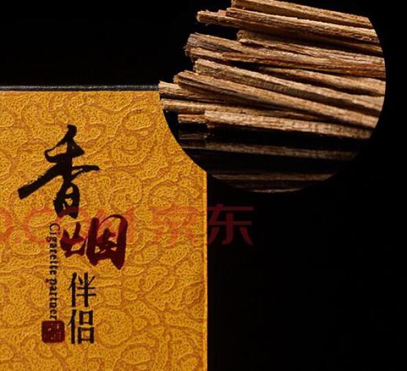 珠阁亮(ZHU GE LIANG) 珠阁亮 高档沉香烟丝沉香木片香烟伴侣礼盒装 6A级纸盒便携约5克送铜针 晒单图