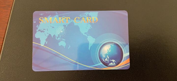 迪奥特莱斯食堂刷卡机学校消费机用 智能消费机卡 IC卡统一版面彩卡现货 100张蓝卡 晒单图