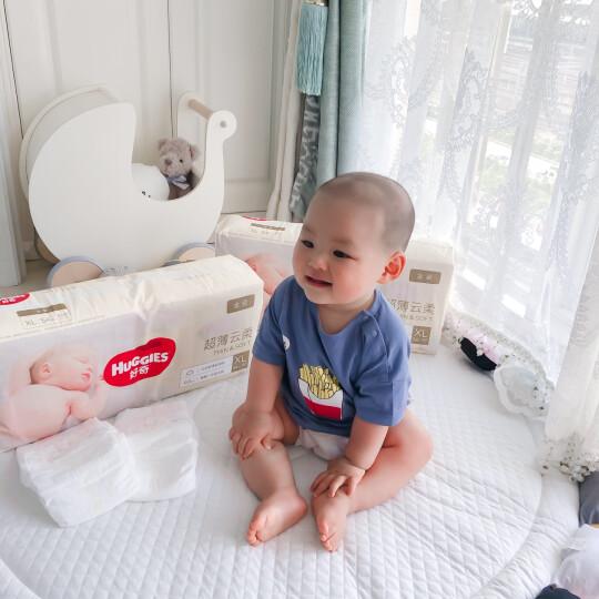 好奇Huggies金装纸尿裤XL108片(12-17kg)加大号婴儿尿不湿超薄云朵柔软超大吸力 晒单图