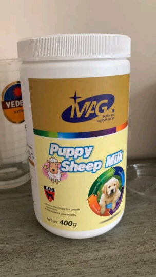 英国MAG羊奶粉 幼猫幼犬宠物狗狗羊奶粉金毛泰迪比熊新生犬猫通用羊奶粉400g 晒单图