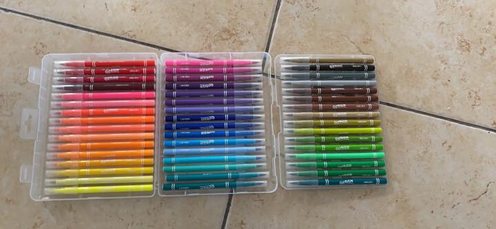 得力(deli)24色软头水彩笔 勾线漫画插画美工签名记号水性笔涂色颜色笔 学生儿童绘画美术用品画具画材 70681 晒单图