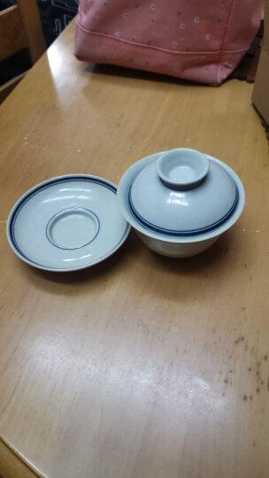 九土仿明代手绘青花瓷三才盖碗景德镇陶瓷仿古禅意精品手工泡茶杯茶碗 晒单图