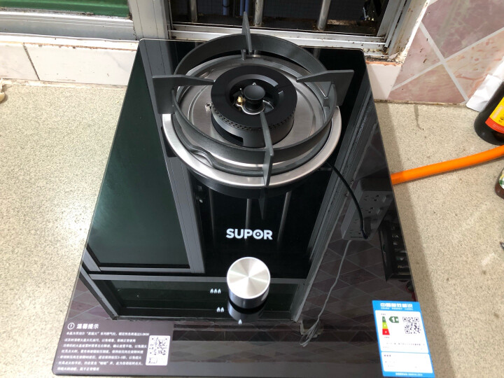 苏泊尔(SUPOR)  JZY-QB301 钢化玻璃燃气灶单灶具 嵌入式  5.0KW大火力 台嵌两用液化气 晒单图