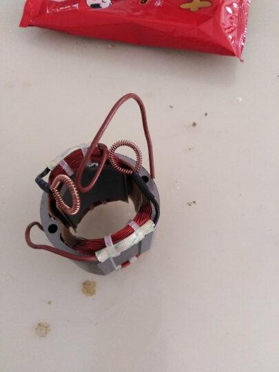 穆禾打磨机配件:电机转子定子开关调速器粘盘碳刷软管布袋毛刷 齿轮总成 晒单图