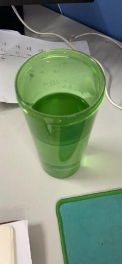 特百惠(Tupperware)莹彩430ML塑料杯 随心运动防漏水杯子带拎绳荔枝红 晒单图