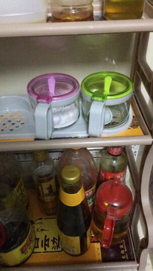 紫丁香 300ML四组厨房食品级调味罐厨房调料盒调味瓶纯白色WJ8121 晒单图