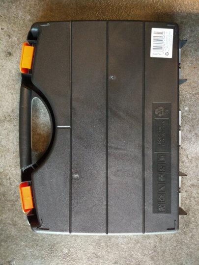 拓为(Tactix) 320018 塑料零件盒 300mm(12英寸)大号分格透明手提整理钓鱼元件工具箱 晒单图