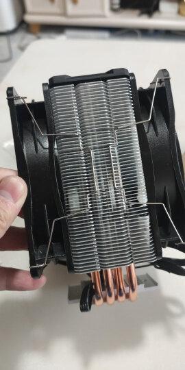 九州风神(DEEPCOOL) 玄冰400 CPU散热器(多平台/支持AM4/4热管/智能温控/幻彩/12CM风扇/附带硅脂) 晒单图