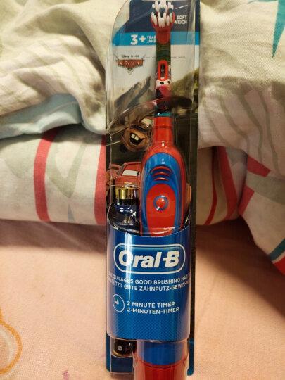 博朗(BRAUN)欧乐B DB4510K 儿童电动牙刷 3岁以上 图案随机发货 晒单图