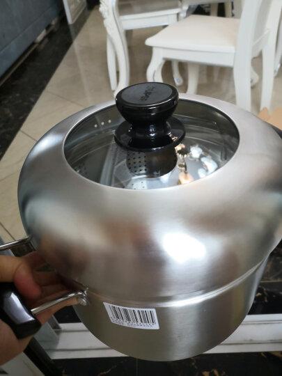 苏泊尔(SUPOR) 蒸滋味蒸煮多用锅汤锅304不锈钢蒸锅复底燃气电磁炉通用锅具 SZ24S1 24cm 晒单图