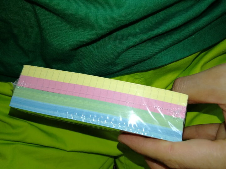 凯萨(KAISA)索引卡美式Index Cards盒装卡片纸白色横线便签记忆卡纸210张便携单词卡 晒单图