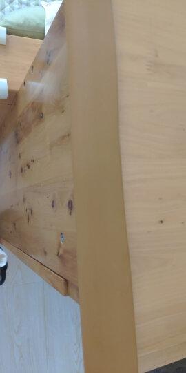 棒棒猪(BabyBBZ) 宝宝防撞条儿童防撞条U型玻璃茶几专用防撞条 安全防护条木色4米装 晒单图