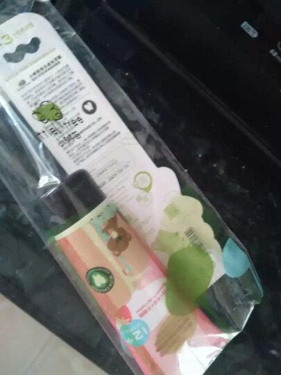 小树苗 儿童牙膏牙刷套装C 宝宝牙膏草莓70g+婴幼儿牙刷软毛绿色 适合1-3岁 不含氟无色素可吞咽 特护系列 晒单图