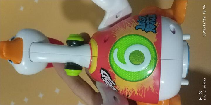 汇乐玩具(HUILE TOYS)DJ阿古 会唱歌跳舞 电动摇摆玩具 手拍鼓跳舞机器人 788 晒单图