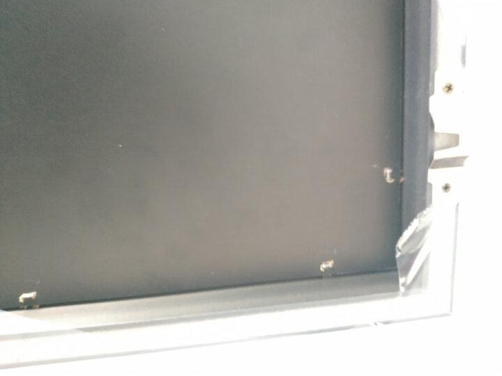 心联 客厅电表箱装饰画 遮挡箱配电箱油画 开关弱电箱电闸挂画 免钻孔时尚简约安装简单 PT057-3 50*50-木纹框 晒单图