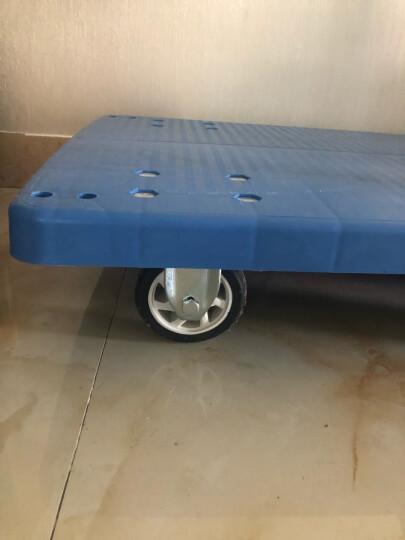 搬运宝 CQ-D3 超轻平板车折叠手推车拖车小推车小拉车货车行李车塑料搬运车 大号标准款90x60cm 承重600斤 晒单图