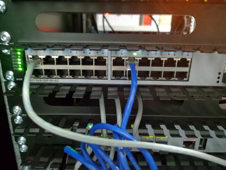 华为(HUAWEI)S5720S-28P-SI-AC 24口全千兆三层网管企业级网络核心交换机 晒单图