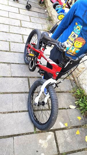 优贝(RoyalBaby)儿童自行车 小孩单车男女童车 宝宝脚踏车山地车 3岁5岁7岁9岁 表演车18寸 红色 晒单图
