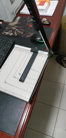 得力(deli) 8014 钢质切纸机/切纸刀/裁纸刀/裁纸机 300mm*250mm 晒单图