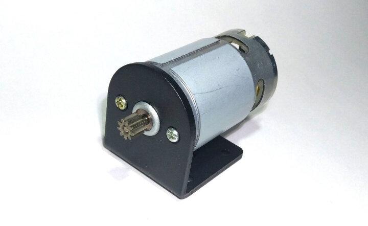 千水星 550/545/555电机座 L型马达固定支架DIY模型电动机固定座支撑座 1个 晒单图